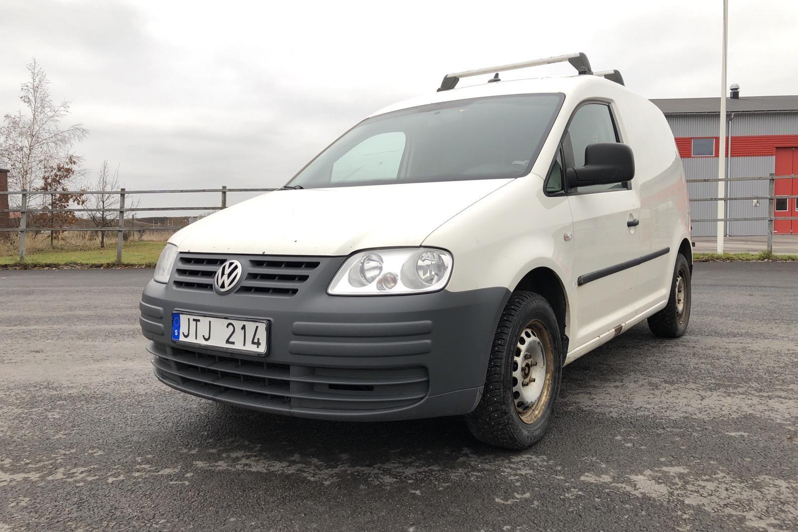 VW Caddy 1.9 TDI Skåp (105hk)