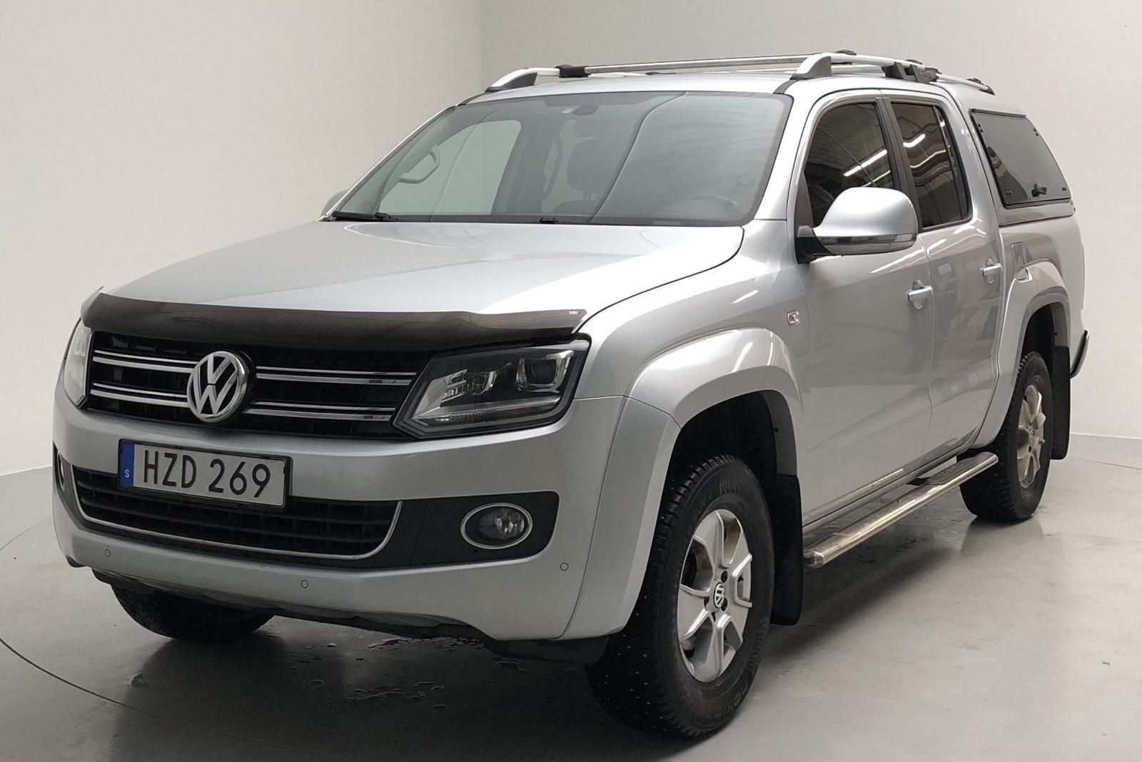 VW Amarok 2.0 TDI 4motion (180hk)