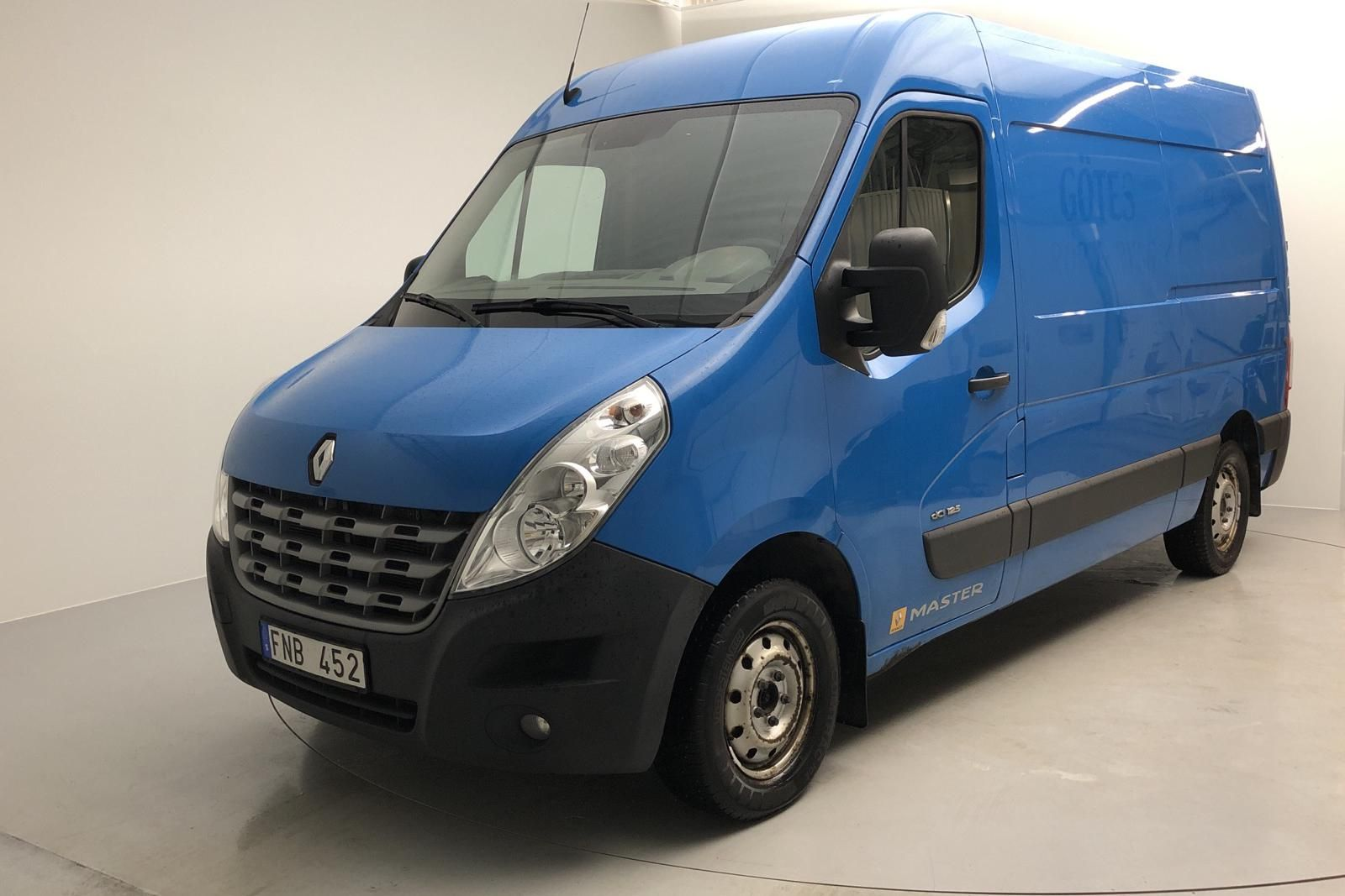 Renault Master 2.3 dCi FAP 2WD (125 hk)