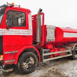 Scania R143HL, Load shifter 6x4 Hook trailer (swap body trailer) - 90