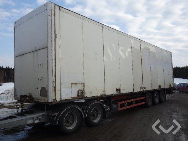 Schmitz SKO 24L FP25 FW 3-Achs Kastenwagen (Seitentüren) - 00