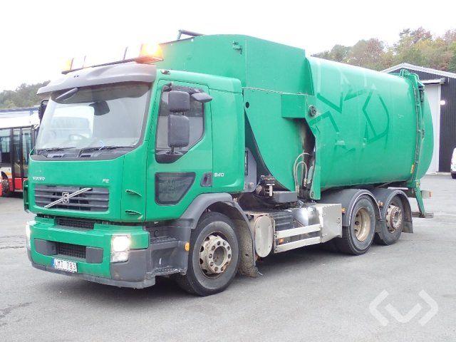 Volvo FE (Seitenlader) 6x2 Müllwagen (Seitenlader) - 10