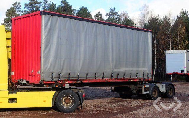 Parator SVX 15-20 2-Achsen-Dolly-Linearanhänger (mit angebautem Containeraufsatz - 02