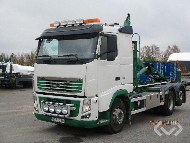Volvo FH460 6x2 Haken Anhänger (Wechselaufbau) - 10