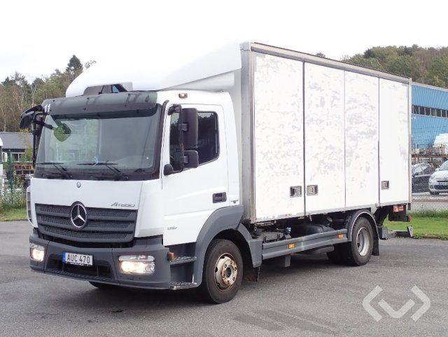 Mercedes Atego 916 (Euro 6) 4x2 Box (Seitentüren + Ladebordwand) - 14