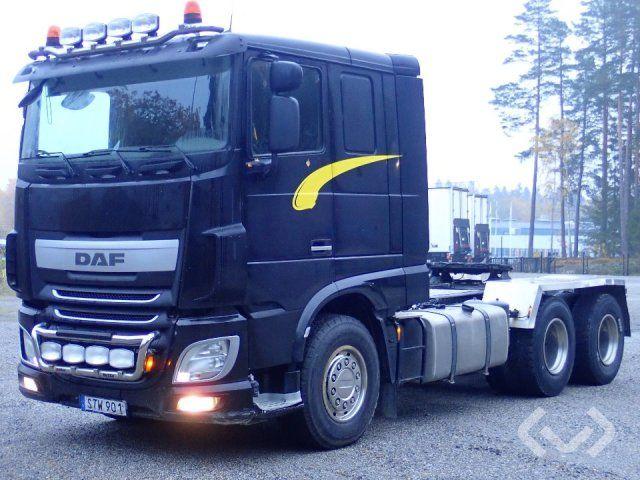 Daf XF510Z 6x4 Traktor - 14