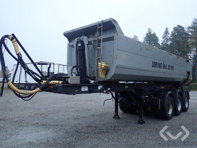 Kilafors TRB3CTB3-41-90 3-Achs-Kippanhänger (Dumper) - 08