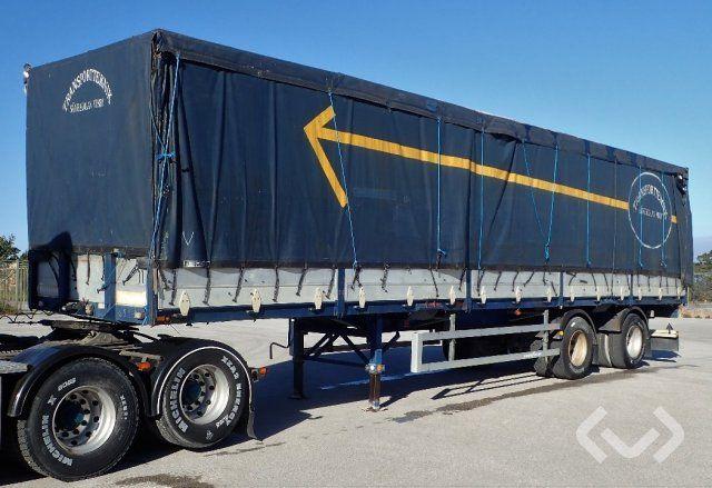 Kilafors DJYKI P21-AL5 2-Achs Anhänger (Tür + Vordach) - 88