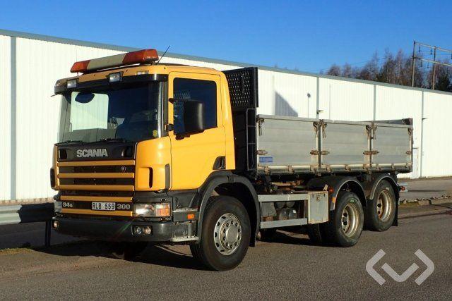 Scania P94GB 6x2 Kipper - 00