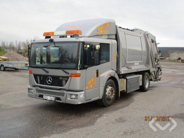 Mercedes 1828G LL 4x2 Müllwagen (Lader) - 09