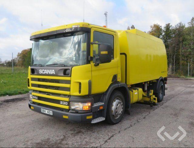 Scania / JOHNSTON BEAM Glykol Sug 4x2 Glykol Sug - 01