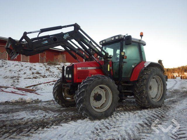 Massey Ferguson 6280 Traktor mit Lader - 01