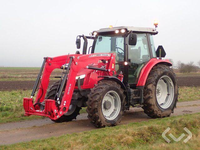 Massey Ferguson 5609 Traktor mit Frontlader - 16