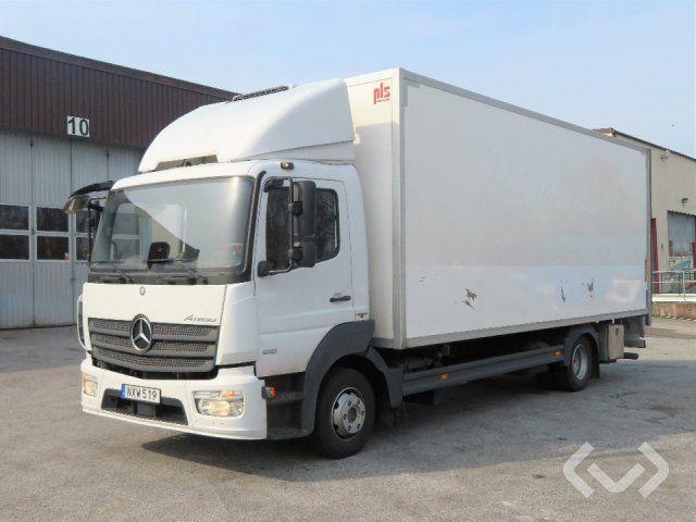 Mercedes Atego 4x2 Box (Chiller + Ladebordwand) - 15