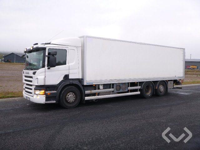 Scania P420LB 6x2 * 4 Box (Kühler + Ladebordwand) - 10