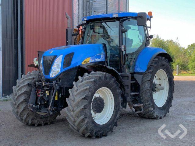 Нью Холланд Трактор NHT 7040 - 09