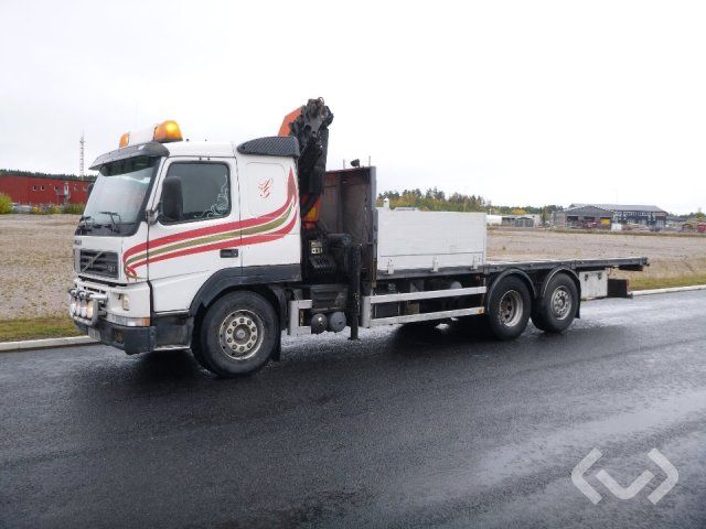 Volvo FM7 Crane truck 6x2 Pritschenpritschen (Kran) - 00