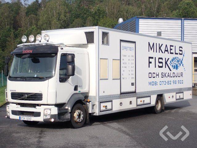 Volvo FL240 4x2 Box (Kühlaggregat + zu öffnende Seite) Fishseller LKW - 10