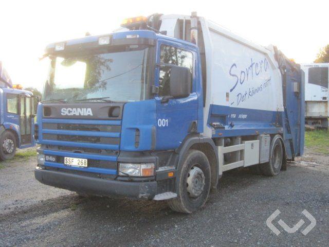 Scania P94D LB300 (Rep.-Objekt) (Nicht exportieren) 4x2 Müllwagen (Hecklader) - 02