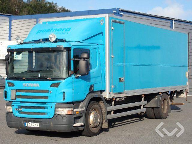 Scania P230LB (nur Export) 4x2 Box (Ladebordwand) - 09