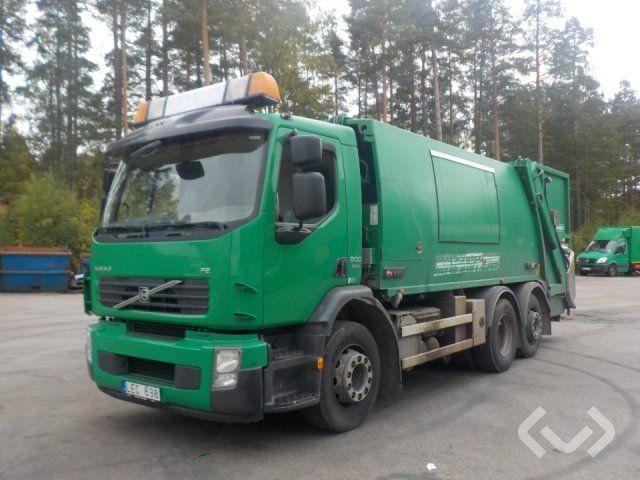 Volvo FE300 6x2 Müllwagen (Hecklader) - 11
