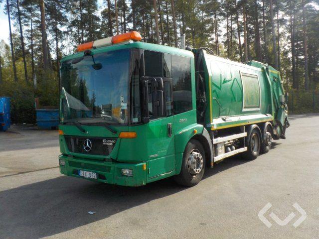 Mercedes 957.66 6x2 Müllwagen (Hecklader) - 11