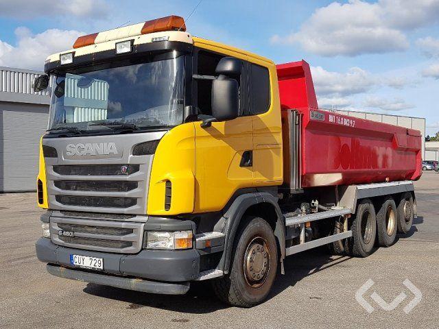 Scania G480LB HSA 8x4 * 4 Kipper - 12