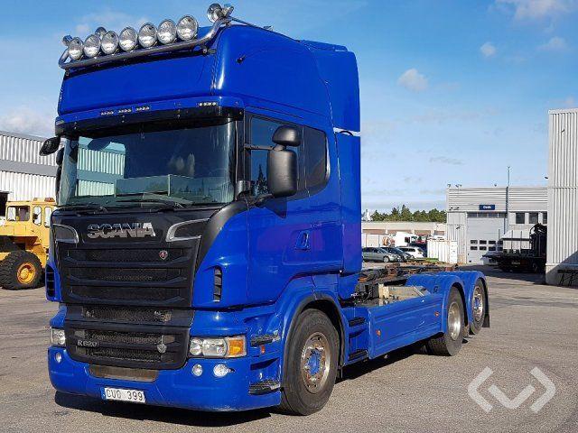Scania R620LB HNB 6x2 Hakenanhänger (Wechselbrückenanhänger) - 12