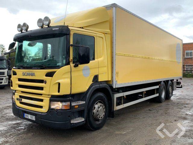 Scania P270LB (nur Export) 6x2 * 4 Box (Ladebordwand) - 09