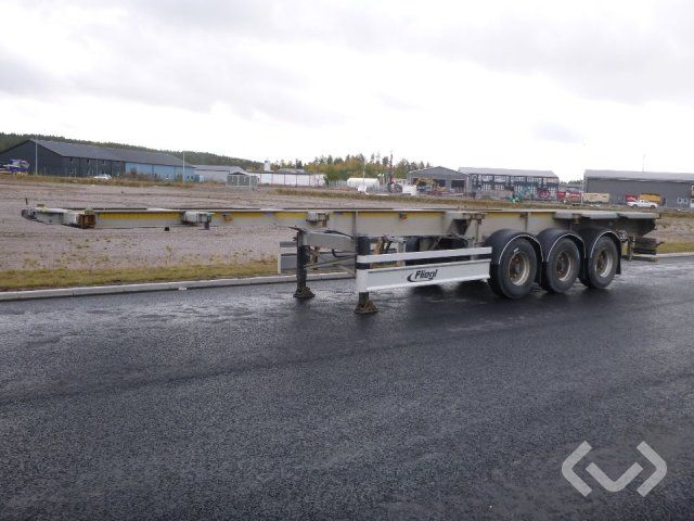 Fliegl SDS 400 3-Achs Anhänger Containerchassis