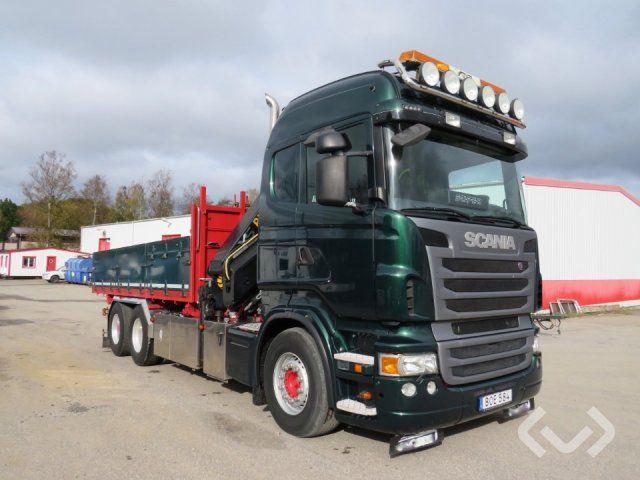 Scania R480LB HNB 6x4 Kipper (Kran) - 09