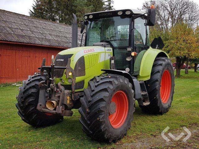 Claas Arion 640 Traktor mit Lader und Schaufel - 10