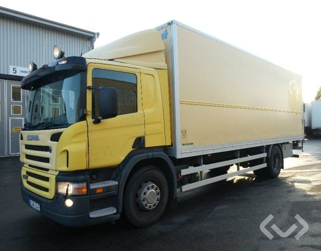 Scania P230LB (nur Export) 4x2 Box (Ladebordwand) - 06