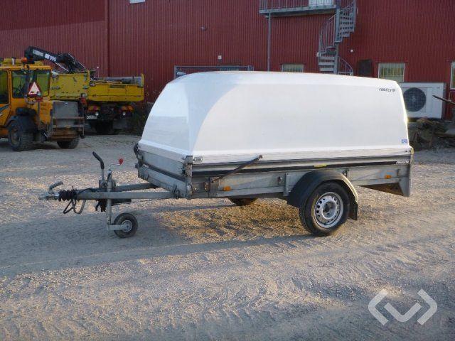 Brenderup LM0750 Anhänger mit Deckel - 16