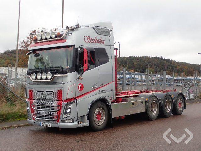 Volvo FH16 8x4 Hakenanhänger (Wechselbrückenanhänger) - 14