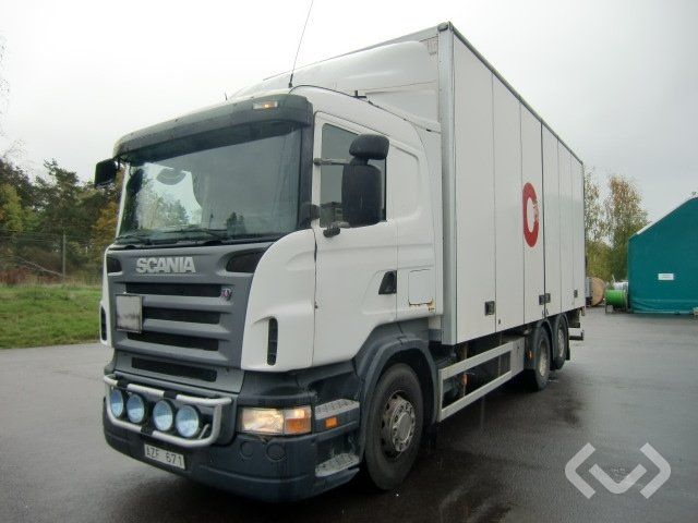 Scania R420LB 6x2 Box (Ladebordwand) - 07