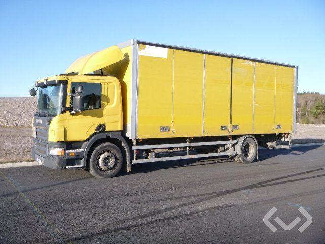 Scania P230LB HNB 4x2 Box (Seitentüren + Ladebordwand) - 08
