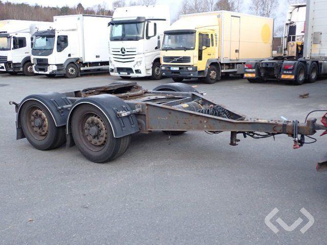 Schmaler 2-Achsen-Transportwagen C2MS11P11 - 14