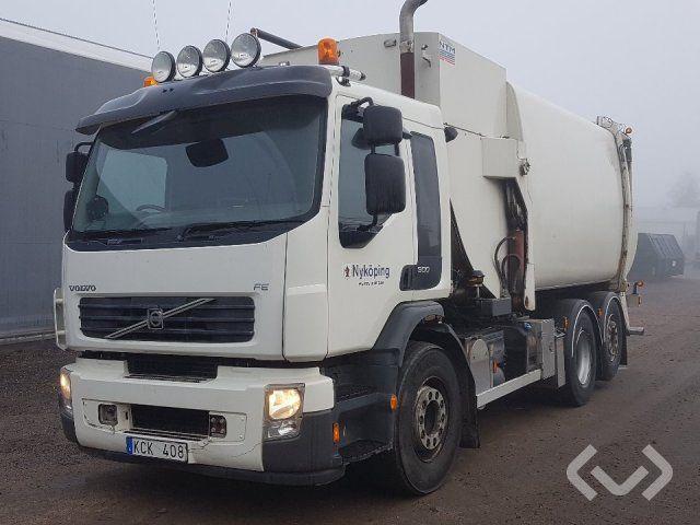 Volvo FE300 6x2 Müllwagen (Seitenlader) - 10