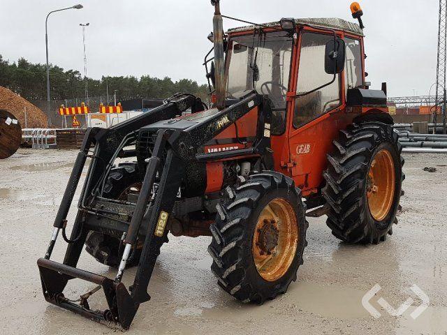 Valmet 604-4 Traktor mit Lader (Rep.-Objekt) - 84