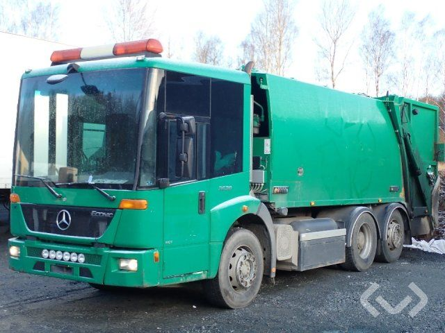 Mercedes Benz Econic 2628 (Rep. Objekt) (Nicht Exportieren) 6x2 Müllwagen (Hecklader) - 11