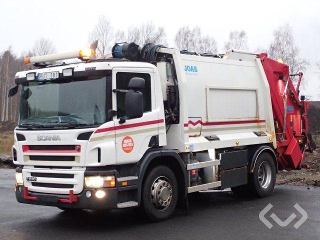 Scania P230 4x2 Müllwagen (Hecklader) - 11
