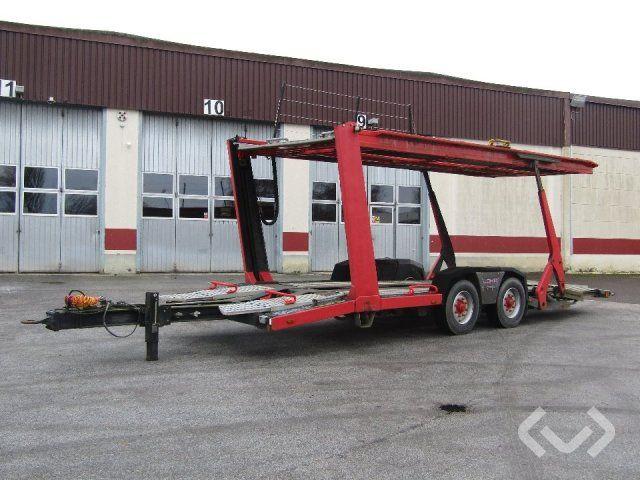 LOHR Autotransporter Anhänger 2 Achsen Autotransporter Anhänger - 99