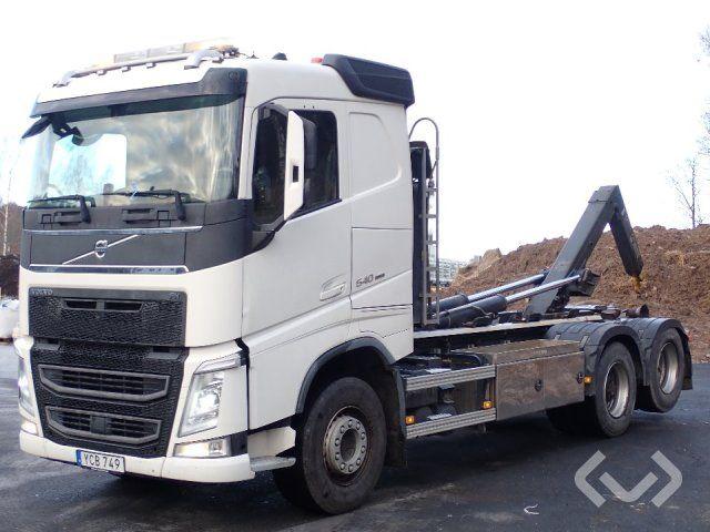 Volvo FH550 6x2 Hakenanhänger (Wechselbrückenanhänger) - 15
