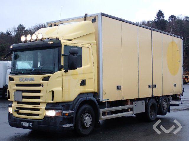 Scania R420LB (nur Export) 6x2 * 4 Box (offene Ladebordwand) - 08