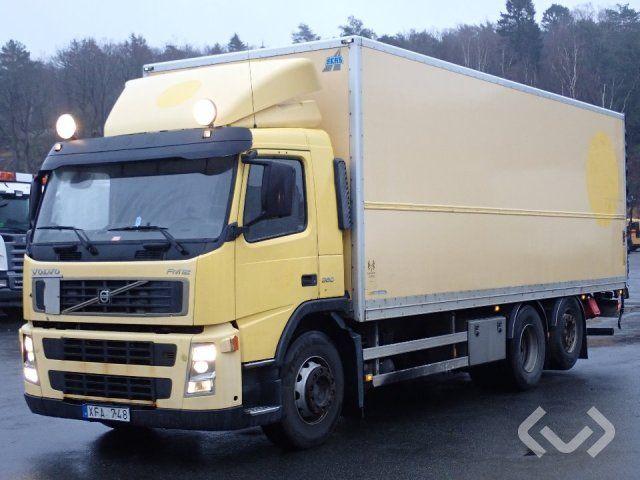 Volvo FM12 (nur Export) 6x2 Box (Ladebordwand) - 06