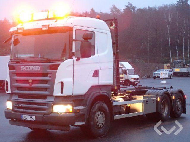 Scania R400 6x2 Hakenanhänger (Wechselbrückenanhänger) - 09