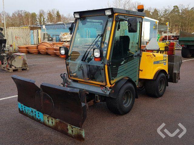 Belos TransPro 44 Werkzeugträger mit Pflug, Streuer, Lastaufnahmemittel und Mähdeck - 00