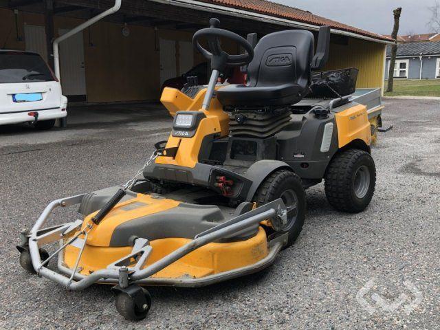 Stiga Park Pro 740 IOX Aufsitzmäher / Gerät 4WD (MKT-Ausrüstung) - 17