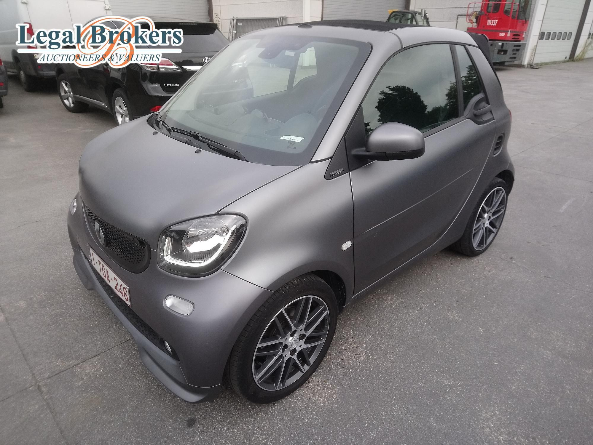 Smart fortwo Brabus 0.9 Turbo - Cabriolet